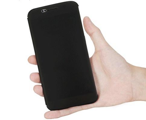 Rock DR.V Samsung Galaxy S6 invisible Smart UI Transparent Kılıf  Renkli